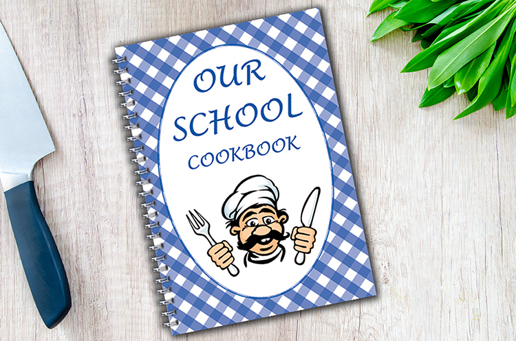 Fundraising Cookbook Cover - CBA